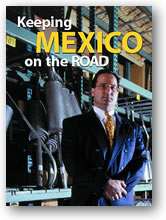 World Trade Magazine April 2002 issue, cover photo.